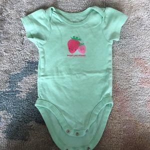 Other - Strawberry onesie